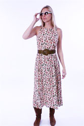 "FULL BLOOM MAGNOLIA DRESS: <strike> $42 </strike> <font color=""red""> $28 </font>"